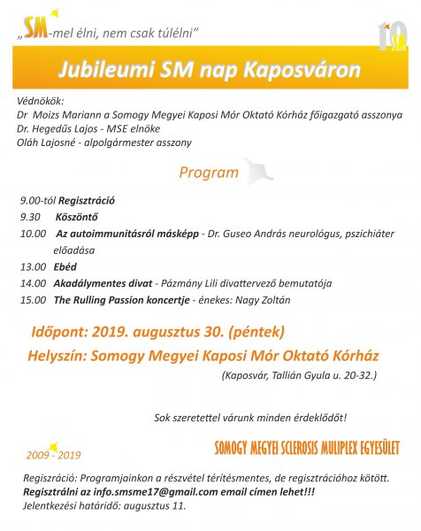 Jubileumi SM nap Kaposváron