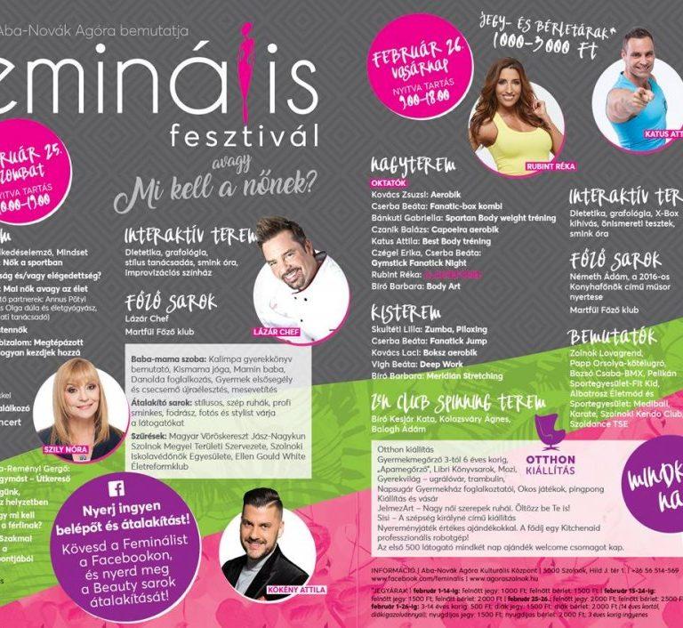 Program: Feminális Fesztivál avagy mi kell a nőnek?