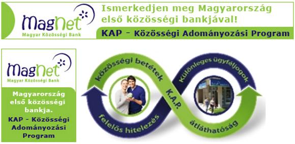 Köszönjük a MagNet Magyar Közösségi Bank támogatását!